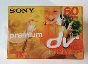 Sony Premium dv Kassetten 60
