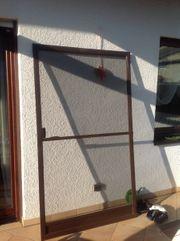 Insektenschutztür Fliegengitter für Türen braun