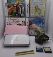 Nintendo DS lite Konsole Silber