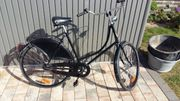 Nostalgie -Fahrrad
