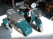 Piaggio Vespa 200PX mit Beiwagen