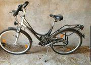 3 gut gebrauchte Fahrräder