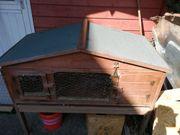 Kaninchenstall Hasenstall Freilaufgehege mit Zubehör