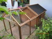Großes Kleintierhaus Gehege aus Holz