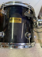 Schlagzeug Basix Custom schwarz komplett