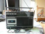 Radiocassettenrekorder