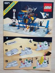 Lego Inter Calactic Command Space