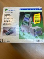 Diskettenbox Step Cube für 15