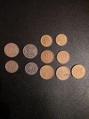 Münzen 11 polnische Zloty Münzen