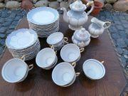 12P Tee-Service Porzellanmanufaktur Schoenau Schmiedeberg