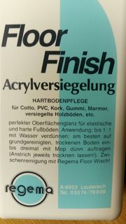 REGEMA Floor Finish
