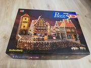 3 D Puzzle Rothenburg von
