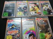 PSP Spiele 7 Stück