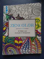 Inkl Versand Kreativ-Set Zencolor - Buch