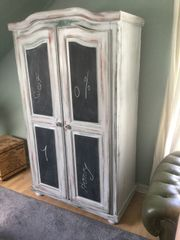 Schrank mit 2 Tafeltüren Vintage