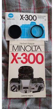 Neue Minolta X 300 wurde