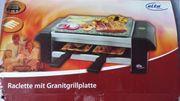 NEU unbenutzt Raclette mit Granitgrillplatte