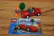LEGO City 8402 - rotes Cabrio