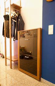 Garderobe - Garderobenset Garderobenständer Paneel Schuhschrank