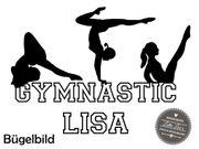Bügelbild Gymnastic Tanzen Dance Ballett