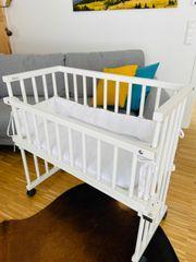 Baby bay Beistellbett zu verkaufen