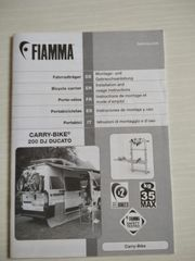 Fiamma Carry Bike 200 DJ