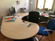 Hochwertiges Schreibtisch- Büro-Set für 2-3