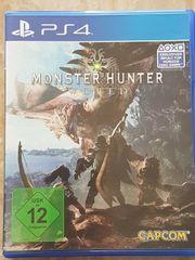 Monster Hunter World PS4 wie