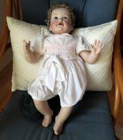 Künstler-Sammlerpuppe Porzellan Heirloom Baby in