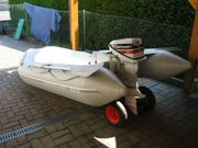Schlauchboot Quicksilver mit 15 PS