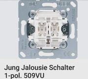 3x JUNG Jalousien Schalter neuwertig