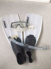 Taucherset mit Schnorchel Taucherbrille und