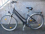 Sportliches Damen City Trekking-Fahrrad 28