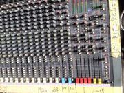 Soundcraft Milschpult mit Multicore