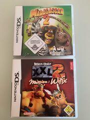 2 Nintendo DS Spiele Madagaskar