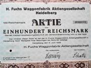 H Fuchs Waggonfabrik AG 1929