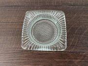 Kleiner Glas Aschenbecher NEU