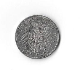 Münzen - 5 Mark Silber-Münze 1914