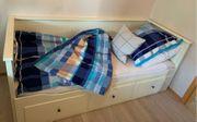 Hemnes Bett von Ikea weiß