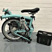 Fahrrad Brompton M6L elektrisch