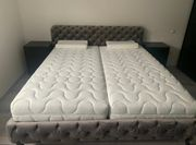 Neuwertiges Bett Desire Velvet 180x200