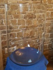 Antiker Glas Dom Glas Sturz