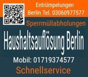 Haushaltsauflösung Berlin kurzfristig Kleinaufträge