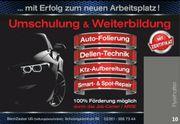 Fahrzeugfolierung Dellentechnik Smart-Spot-repair Fahrzeugpflege