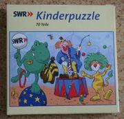 Puzzle 70 Teile SWR Tigerentenclub