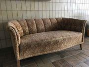 Biedermeier Sofa antike Couch Zweisitzer