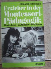 Erzieher in der Montessori-Pädagogik Bedeutung - Aufgaben
