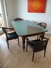 Englischer Esstisch Tisch Wohnzimmertisch Mahagoni