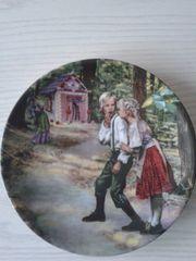 Brüder Grimm Märchenteller