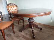 Verkaufe Antike Tisch und 5